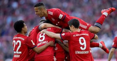 Бавария - Боруссия Д 5:0 видео голов и обзор чемпионата Германии