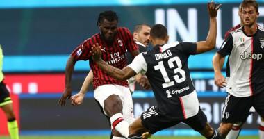 Милан - Ювентус 4:2 видео голов и обзор матча чемпионата Италии