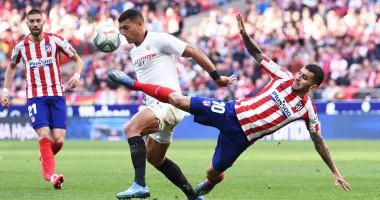 Атлетико - Севилья 2:2 видео голов и обзор матча Ла Лиги