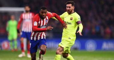 Атлетико - Барселона 1:1 видео голов и обзор центрального матча 13-го тура Ла Лиги