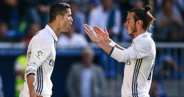 Бэйлу досталось от Роналду на тренировке Реала