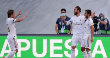 Реал - Эйбар 3:1 видео голов и обзор матча Ла Лига