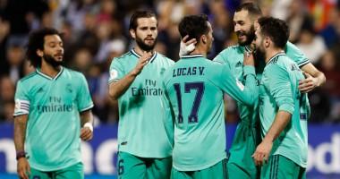 Сарагоса - Реал 0:4 видео голов и обзор матча Кубка Испании