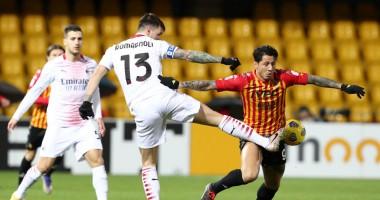 Беневенто - Милан 0:2 Видео голов и обзор матча Серия А