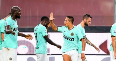 Дженоа - Интер 0:3 видео голов и обзор матча чемпионата Италии