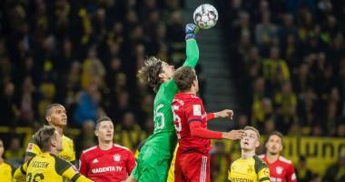 Боруссия Д - Бавария 3:2 видео голов и обзор матча Бундеслиги