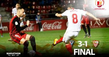 Мирандес - Севилья 3:1 видео голов и обзор матча Кубка Испании