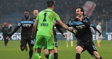 Интер - Лацио 1:1 (3:4 пен) видео голов и обзор матча Кубка Италии