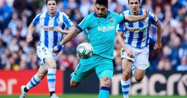 Реал Сосьедад - Барселона 2:2 видео голов и обзор матча