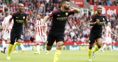 Сток Сити - Манчестер Сити 1:4 Видео голов и обзор матча чемпионата Англии