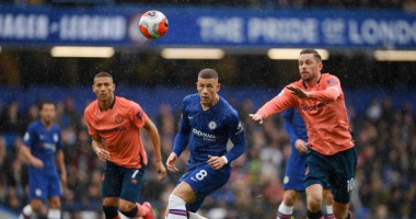 Челси - Эвертон 4:0 видео голов и обзор матча АПЛ