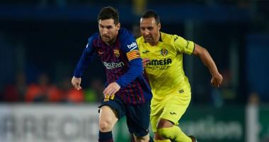 Вильярреал - Барселона 4:4 видео голов и обзор матча чемпионата Испании