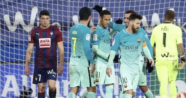 Эйбар - Барселона 0:4 Видео голов и обзор матча чемпионата Испании