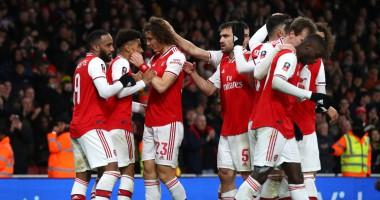 Арсенал - Лидс 1:0: видео гола и обзор матча Кубка Англии