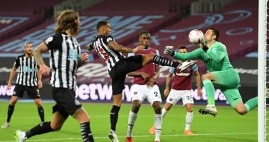 Вест Хэм - Ньюкасл 0:2 видео голов и обзор матча чемпионата Англии