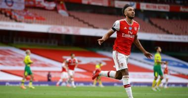 Арсенал - Норвич 4:0 видео голов и обзор матча чемпионата Англии
