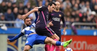 Депортиво - Барселона 2:1 Видео голов и обзор матча чемпионата Испании