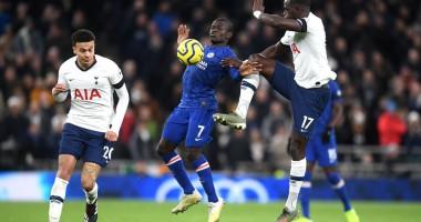 Тоттенхэм - Челси 0:2 видео голов и обзор матча АПЛ