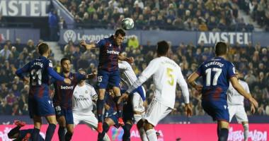 Леванте - Реал 1:0 видео гола и обзор матча чемпионата Испании