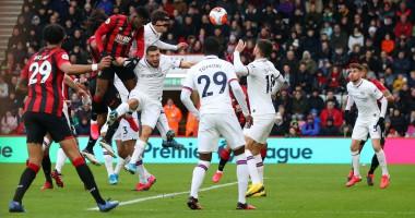 Борнмут - Челси 2:2 видео голов и обзор матча чемпионата Англии