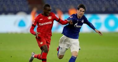 Шальке - Байер 1:1 видео голов и обзор матча Бундеслиги