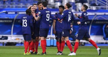 Казахстан — Франция 0:2 видео голов и обзор матча квалификации ЧМ-2022