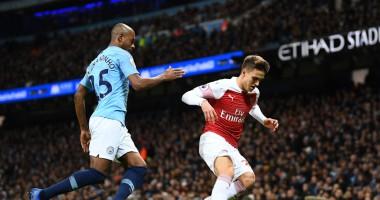 Манчестер Сити — Арсенал 3:1 Видео голов и обзор матча АПЛ