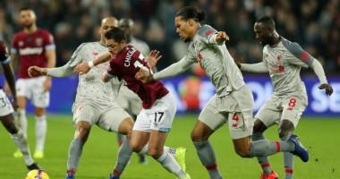 Вест Хэм - Ливерпуль 1:1 видео голов и обзор матча чемпионата Англии