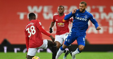Манчестер Юнайтед - Эвертон 3:3 Видео голов и обзор матча чемпионата Англии