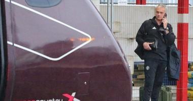 Игроки МЮ на собственном поезде добирались до Лондона