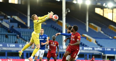 Эвертон - Ливерпуль 0:0 видео обзор матча АПЛ
