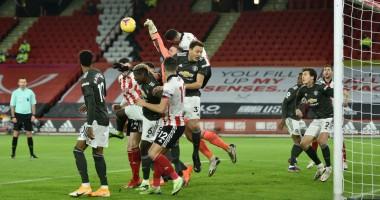 Шеффилд Юнайтед - Манчестер Юнайтед 2:3 видео голов и обзор матча АПЛ