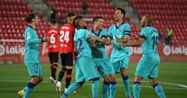 Мальорка - Барселона 0:4 видео голов и обзор матча Ла Лиги