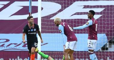 Астон Вилла - Челси 1:2 видео голов и обзор матча АПЛ