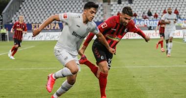 Фрайбург - Байер 0:1 видео гола и обзор матча Бундеслиги