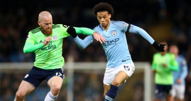 Манчестер Сити - Кардифф 2:0 видео голов и обзор матча АПЛ