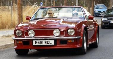 Винтажный Aston Martin Бекхэма продается за колоссальную сумму