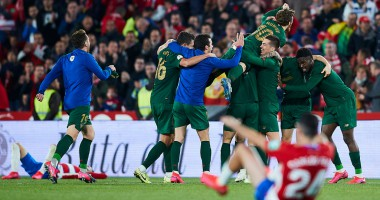 Гранада - Атлетик 2:1 видео голов и обзор матча Кубка Испании