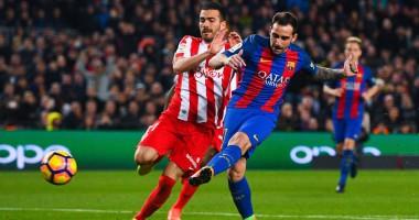 Барселона - Спортинг Хихон 6:1 Видео голов и обзор матча чемпионата Испании
