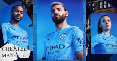 Манчестер Сити представил новую форму на сезон-2020/21
