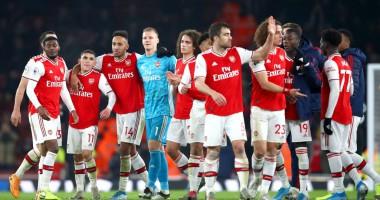 Арсенал - Манчестер Юнайтед 2:0 видео голов и обзор матча чемпионата Англии