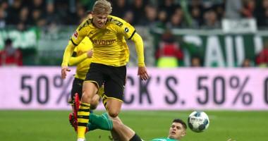 Вердер - Боруссия Д 0:2 видео голов и обзор матча Бундеслиги