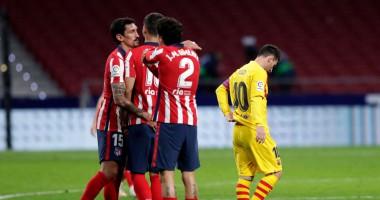 Атлетико - Барселона 1:0 Видео голов и обзор матча чемпионата Испании
