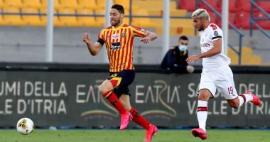 Лечче - Милан 1:4 видео голов и обзор матча чемпионата Италии