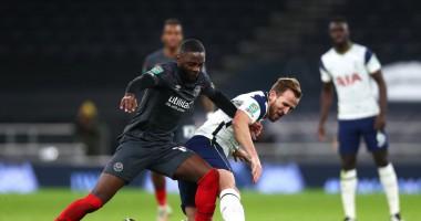 Тоттенхэм – Брентфорд 2:0 видео голов и обзор матча Кубка английской лиги