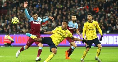 Вест Хэм - Арсенал 1:3 видео голов и обзор матча АПЛ