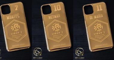 ПСЖ подарил игрокам чехлы для IPhone, покрытые золотом, в честь победы в Лиге 1