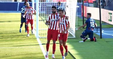 Леванте - Атлетико 0:1 видео гола и обзор матча Ла Лиги