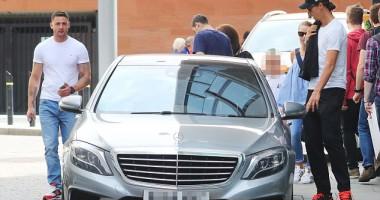 Ибрагимовичу выдали служебный автомобиль, на котором ездил ван Гал
