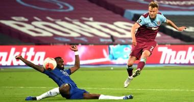 Вест Хэм - Челси 3:2 видео голов и обзор матча чемпионата Англии